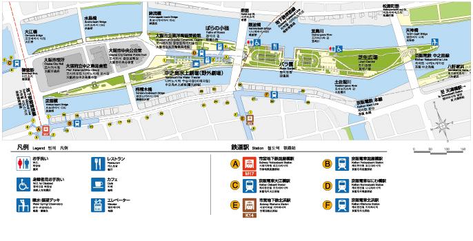 中之島公園マップ